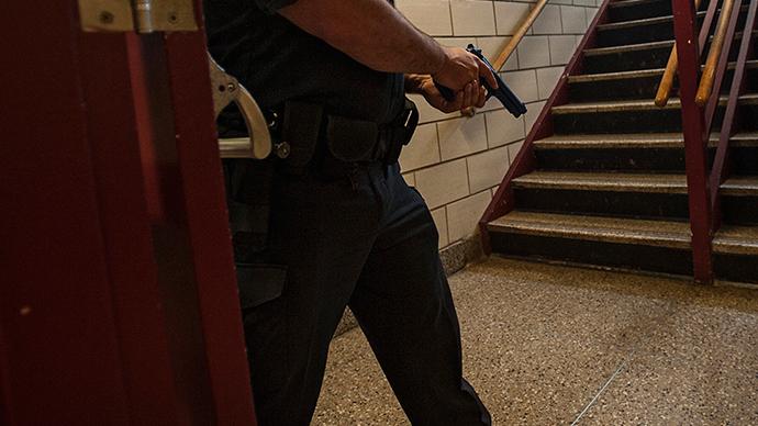 N. Carolina teen sporting bulletproof vest reportedly shoots cop