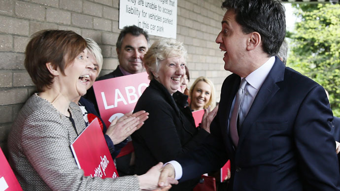 Labour minority government? Miliband appeals for trade union backing