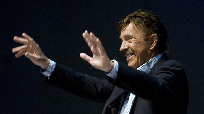 Chuck Norris karate-kicks trust in govt ahead of US military drills