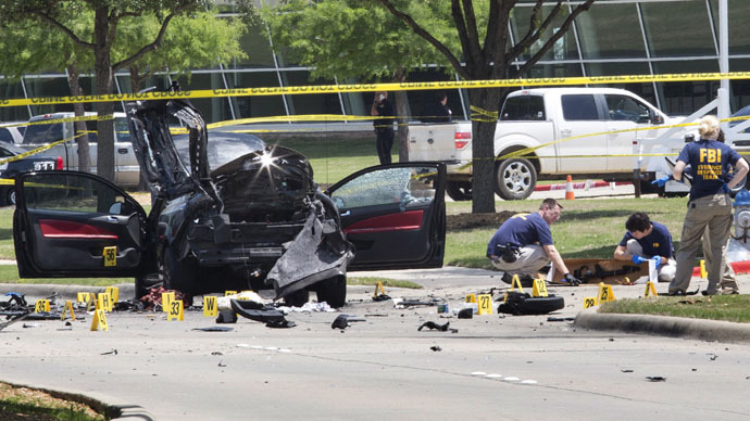 Texas shooting suspect known to FBI since 2006