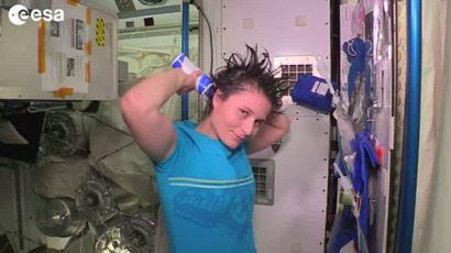 Space break: How astronauts relieve themselves aboard ISS (VIDEO)