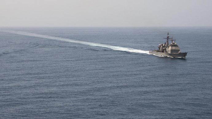 US navy starts escorting British cargo ships through Strait of Hormuz off Iran's coast