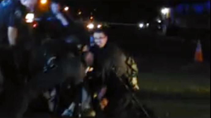 Viral video of California police kicking man during arrest sparks internal investigation