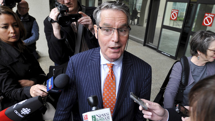 Dennis Edney, counsel for former Guantanamo Bay detainee Omar Khadr.(. Reuters / Dan Riedlhuber )