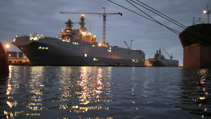 France may scuttle Mistral ships rather than fulfill Russian contract