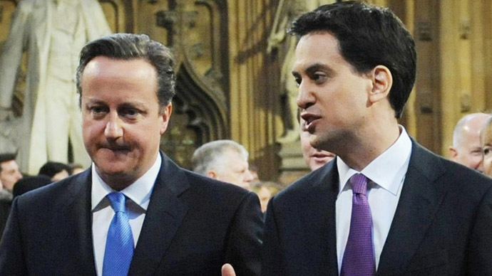 Miliband 'conning' his way to power, claims Cameron