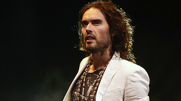 Russell Brand 'thinks terrorism is funny' says Cameron, as comedian backs Labour