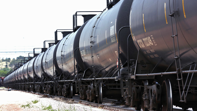 'Bomb train' derails in North Dakota, explosion forces village evacuation