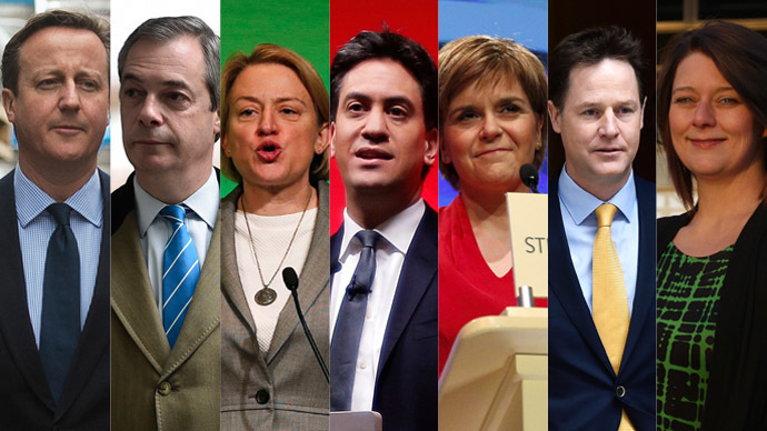 #GE2015: The key players in race to Downing Street