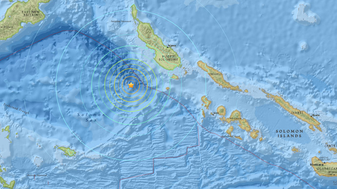 7.2 earthquake hits off Papua New Guinea, warning of 'hazardous tsunami waves'
