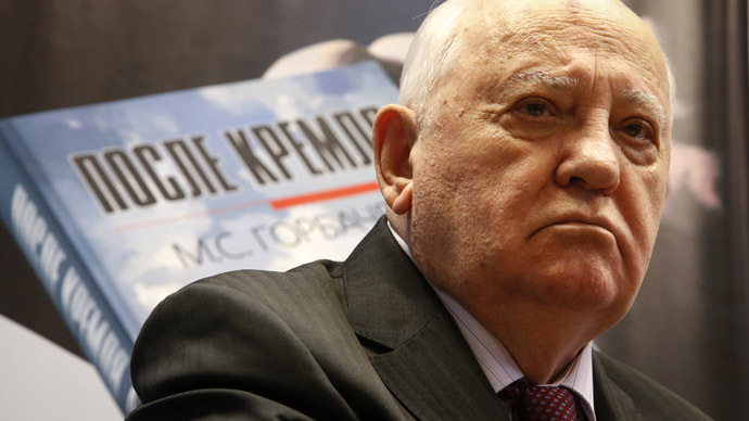 Gorbachev accuses western leaders of disrespect toward victors over Nazism