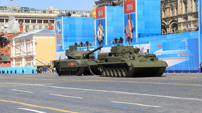New Russian T-14 Armata tank grinds to a halt on Red Square