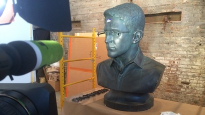 Snowden freed: NYPD releases illegally installed bust for art show