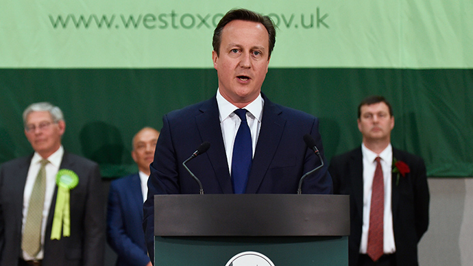 #GE2015 result: David Cameron's Conservative Party wins overall majority