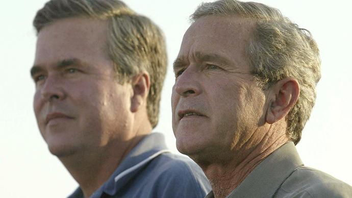George W. Bush is one of Jeb Bush's top advisers on Israel