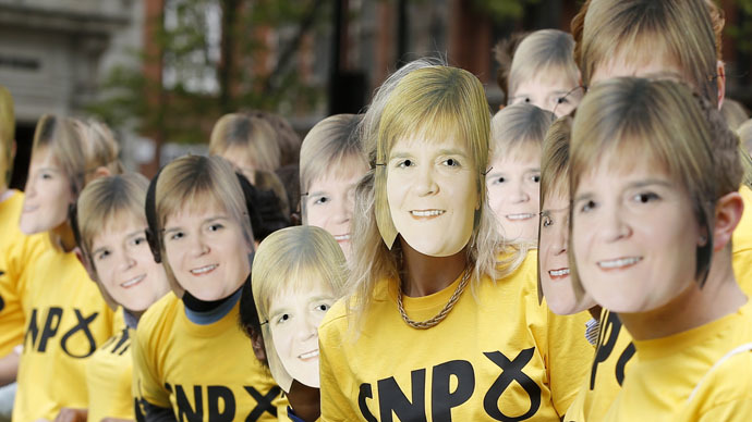 ​'Scottish lion roars': SNP win 56 out of 59 Scottish seats, humiliating Labour
