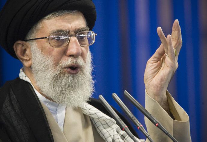 Iran's supreme leader Ayatollah Ali Khamenei (Reuters/Morteza Nikoubazl)
