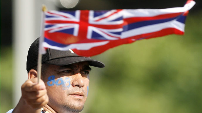 Native peoples' group seeks end to 'US occupation' of Alaska, Hawaii