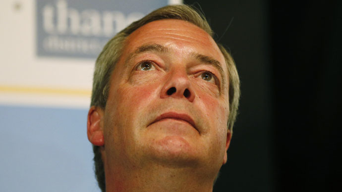 UKIP's Nigel Farage resigns after failing to win South Thanet seat in #GE2015