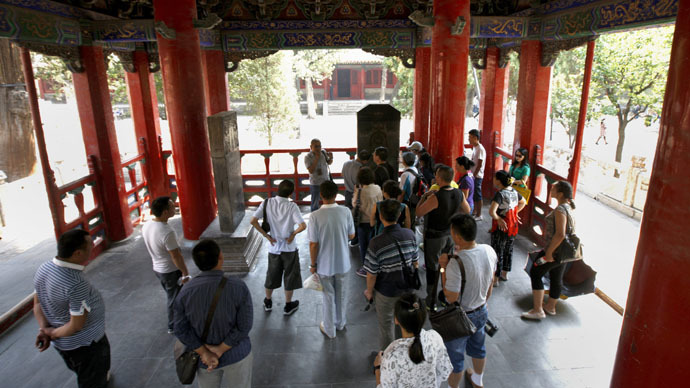 China's hell-raising tourists blacklisted for misbehavior