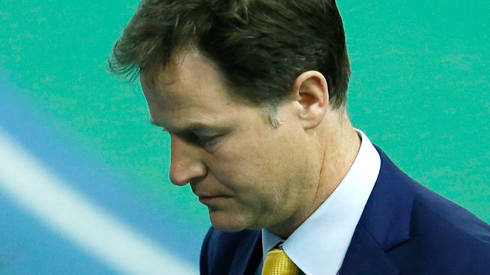 Deputy PM Nick Clegg resigns, as Liberal Democrats decimated in election