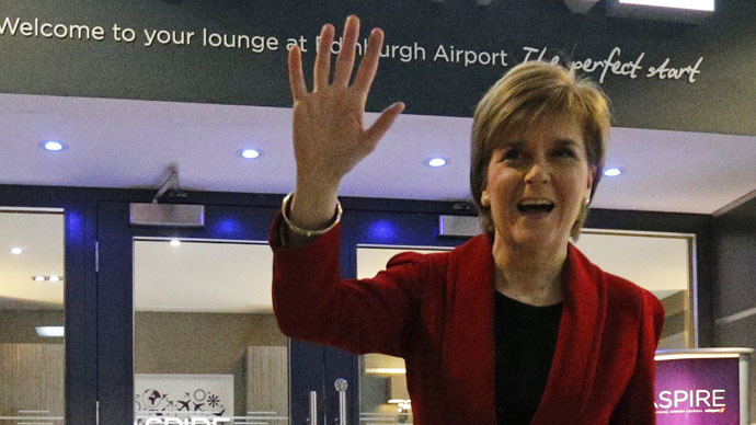 SNP Scottish victory 'a vote against austerity' - Sturgeon