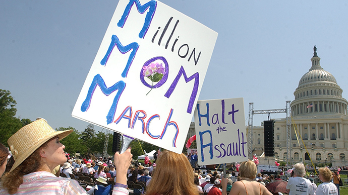 Mothers of dead police brutality victims march in DC (PHOTOS)