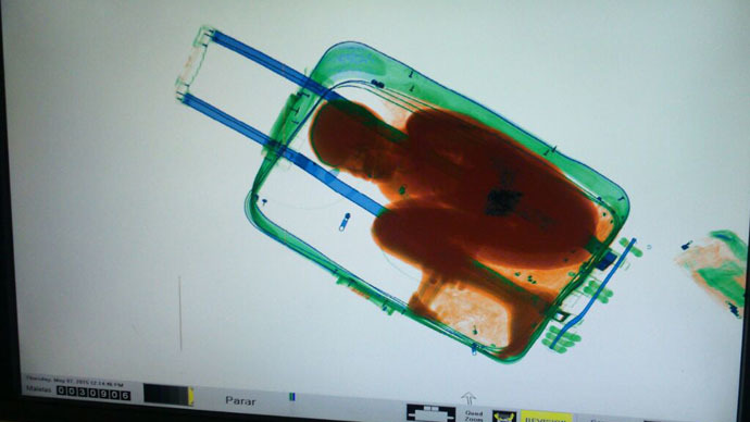 African boy smuggled to Spain… in suitcase (PHOTOS)