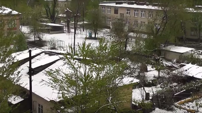 May SNOWFALL hits Chelyabinsk in Russia, thousands left without power (PHOTOS)