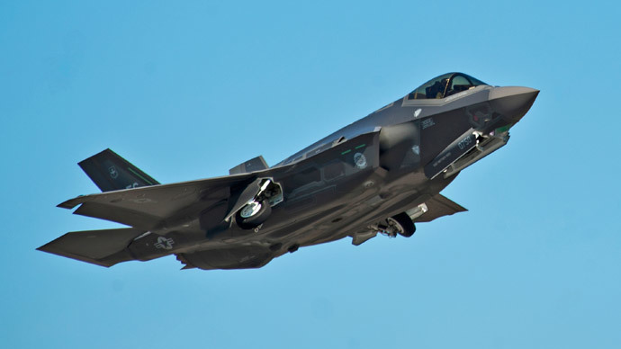 Delays in costly 'white elephant' F-35 leave British skies 'vulnerable'