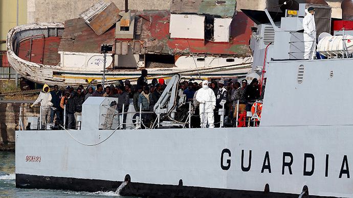 Britain rejects EU proposal to evenly distribute 20k Mediterranean migrants