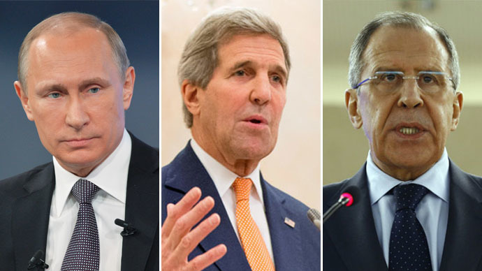 US Secretary of State Kerry traveling to Russia, set to meet Putin, Lavrov