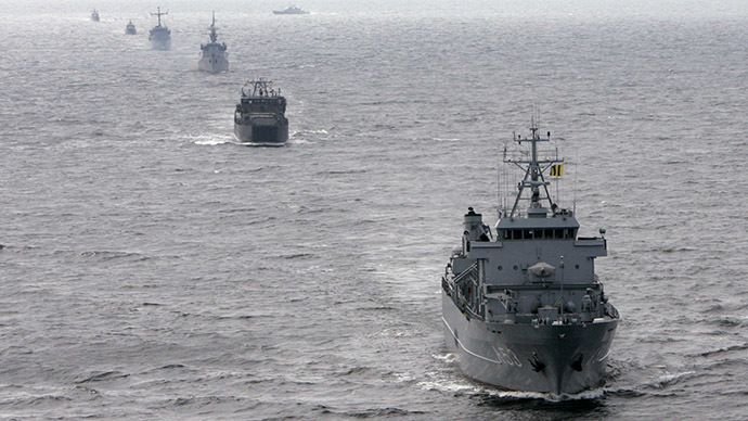 Baltic Fortress 2015: NATO warships start drills off Lithuanian coast