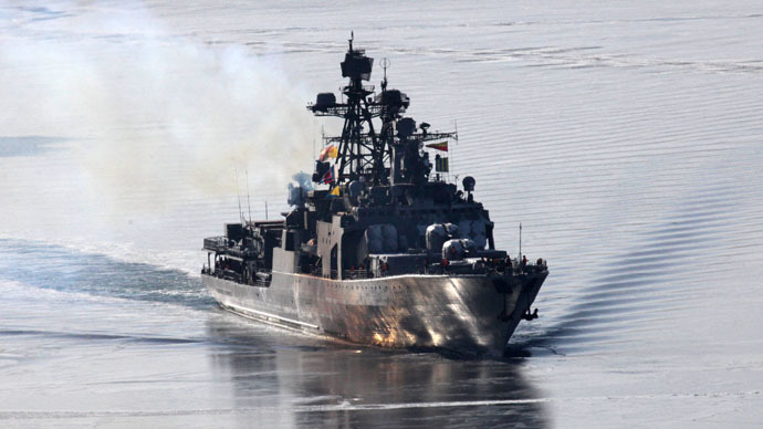 'Not aimed at third country': Russia & China start joint drills at Mediterranean
