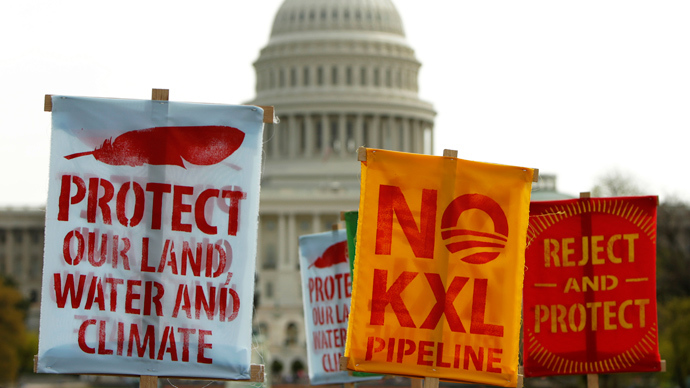 Docs show FBI wrongly spied on Keystone XL protesters