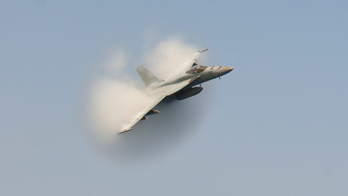 US Navy jet crashes in Persian Gulf, pilots safe