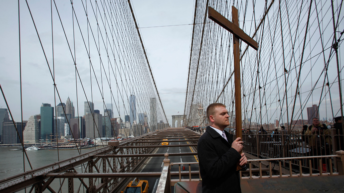 Losing my religion: US population becomes less Christian