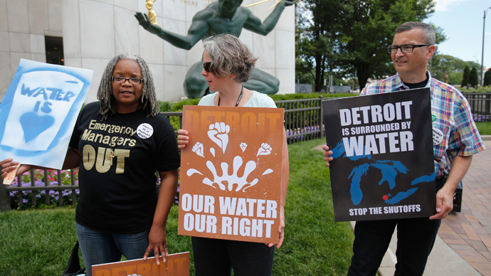 Turning off the tap: Detroit threatens water shut-offs again