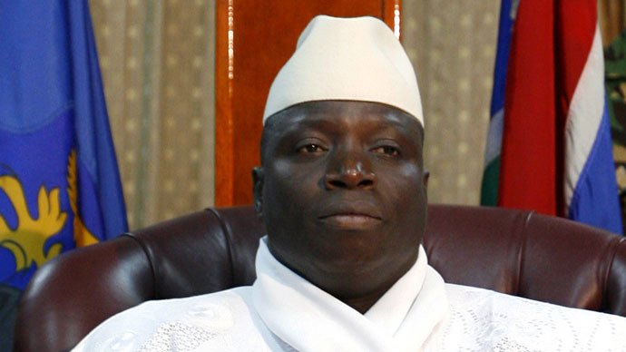 'If you do it here, I will slit your throat' - Gambia's president to homosexuals