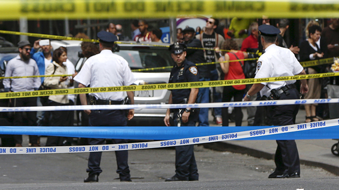 NYC hammer attacker gunned down by cops (VIDEO)