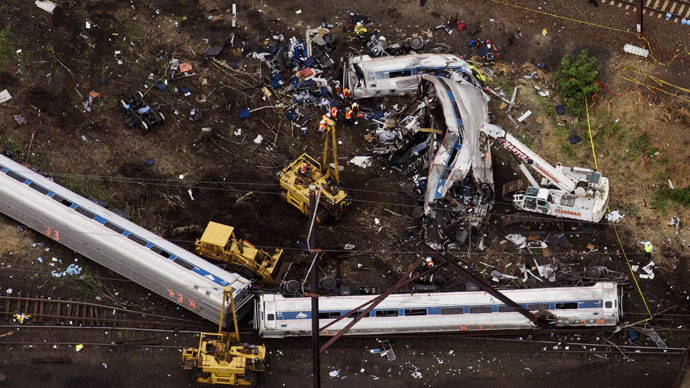 Amtrak employee sues rail line over injuries from Philadelphia train crash