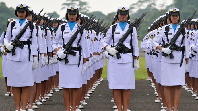 Indonesia urged to ban virginity tests for fiancées of officers, female recruits