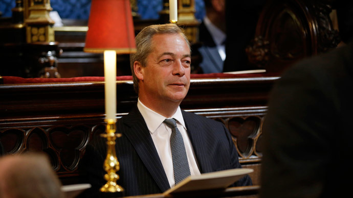 Too 'aggressive' to lead UKIP? Farage facing leadership rebellion