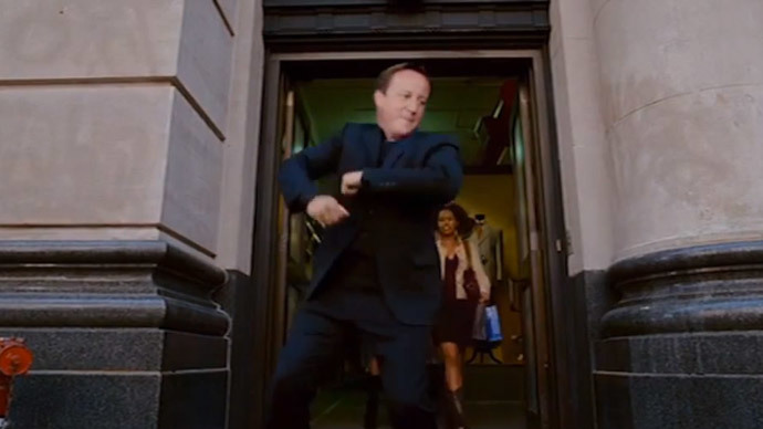 ​Web sight: Cameron celebrates election victory in hilarious Spider-Man spoof (VIDEO)