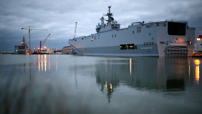 Cancelation of Mistral ship deal with Russia could cost France up to €5bn - report