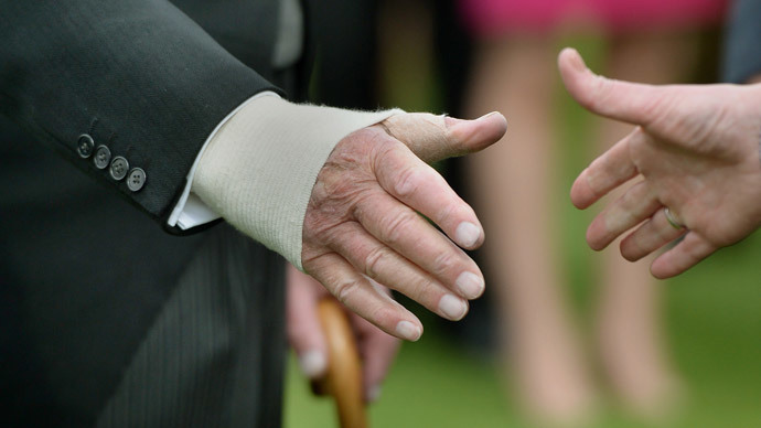 Get a grip! Study finds weak handshakes linked to higher chance of heart attack, stroke
