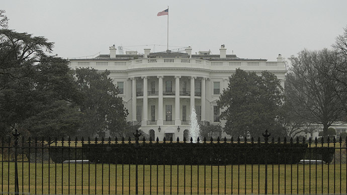 White House locked down after drone launch