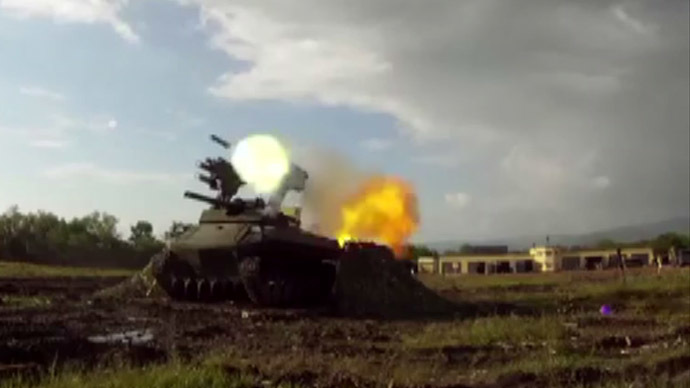 Russian battle robots shoot armored targets during field trials (VIDEO)