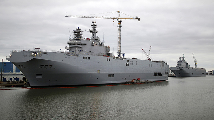 ​France offers Mistral contract termination, hopes to get off cheap – report