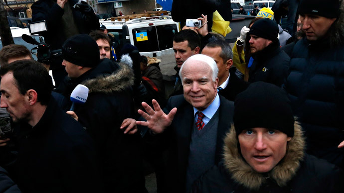 No Ukraine for McCain: US constitution precludes senator from joining reform council